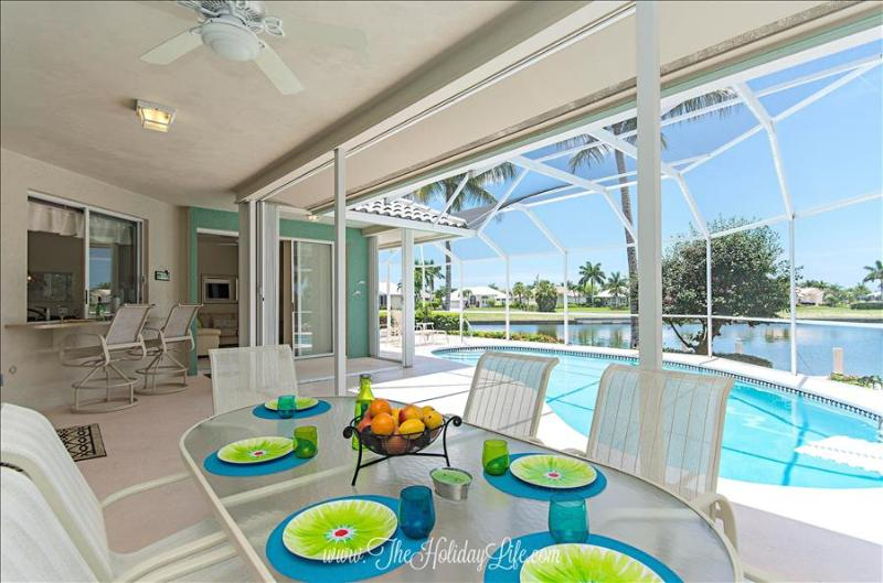 ADMIRALTY - Coastal Comfort on Gulf Access Canal - Image 1 - Marco Island - rentals