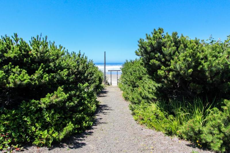 Ground-level beachside studio w/ stunning ocean views! It's dog-friendly too! - Image 1 - Waldport - rentals