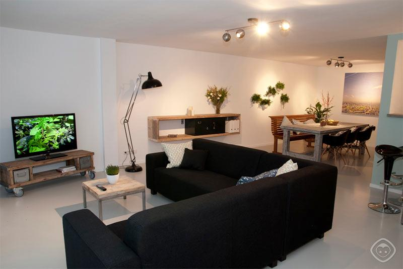 Living Room Picture Perfect apartment Amsterdam - Picture Perfect apartment Amsterdam - Amsterdam - rentals