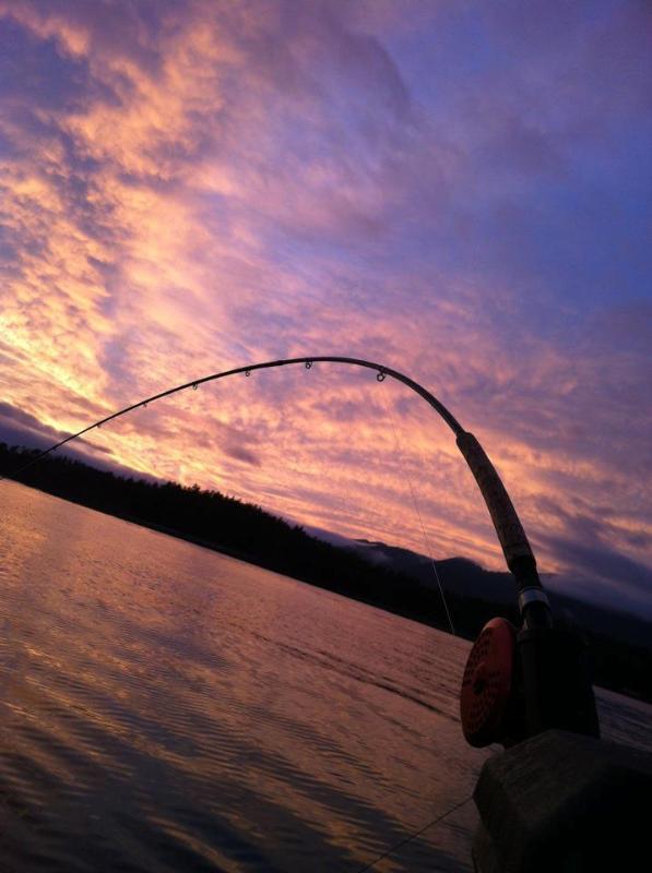 Nootka sunset - Riverquest Charters - Nootka Island - rentals