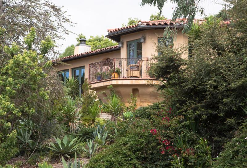 Looking up to the house from down below. - Our Lovely Hillside Oasis - Santa Barbara - rentals