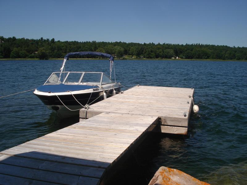 Island dock - Private island cottage for rent 1000 islands - Mallorytown - rentals
