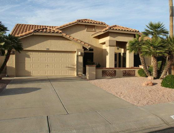 Front View of House - Beautiful Westbrook Village Home with Private Pool - Peoria - rentals