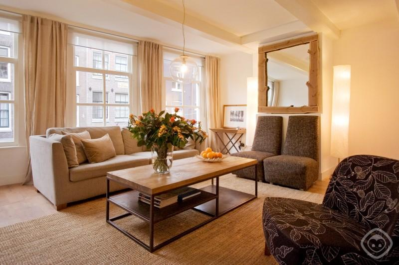 Living Room Multatuli Luxury Apartment Amsterdam - Multatuli Luxury apartment Amsterdam - Amsterdam - rentals