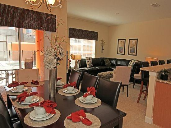 4 Bedroom 3 Bath Beautiful Town Home In Kissimmee Resort. 8974CAL - Image 1 - Orlando - rentals