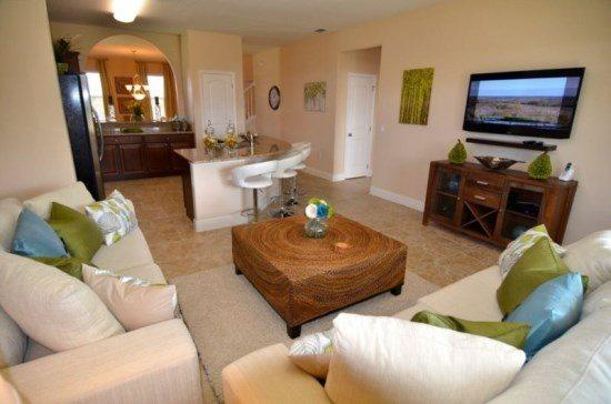 5 Bed 4.5 bath Pool Home Sleeps 11 people in Solterra Resort. 4305AC - Image 1 - Orlando - rentals