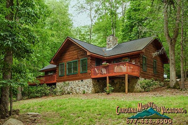 Dream Catcher log cabin - Image 1 - Bryson City - rentals