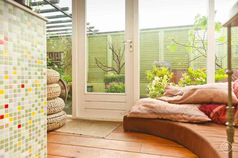 Living Room Amstel river B&B Apartment Amsterdam - Amstel River apartment Amsterdam - Amsterdam - rentals