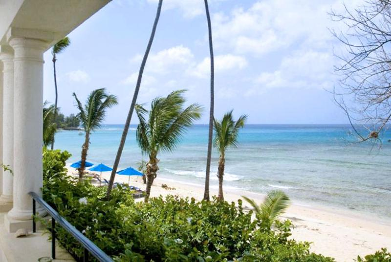 SPECIAL OFFER: Barbados Villa 117 Beachfront Apartment On The First Floor With Breathtaking Views Across The Caribbean Sea. - Image 1 - Speightstown - rentals