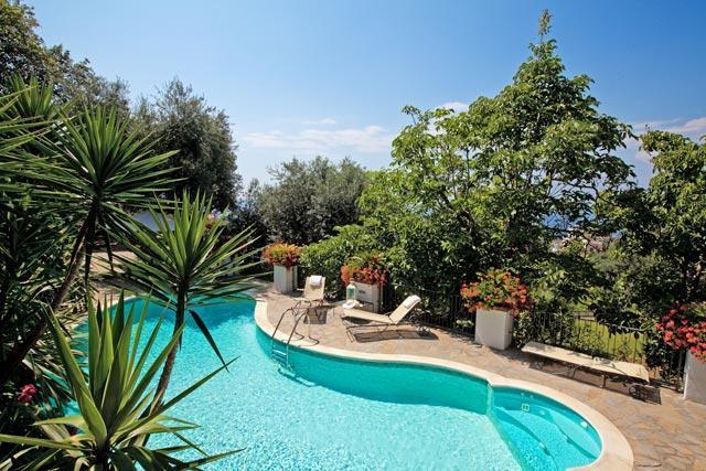 3 Bedroom villa with pool & sea view near Sorrento - Image 1 - Sorrento - rentals