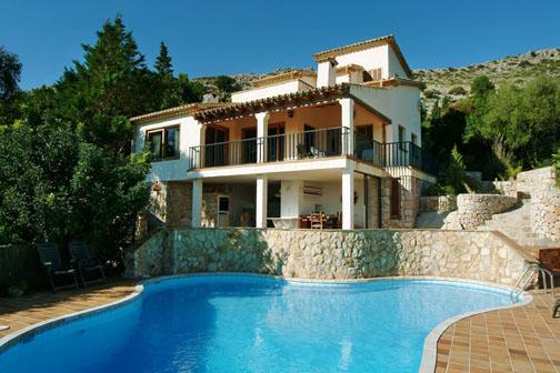 3 bedroom Villa in Puerto Pollensa, Mallorca, Mallorca : ref 2093576 - Image 1 - Cala San Vincente - rentals