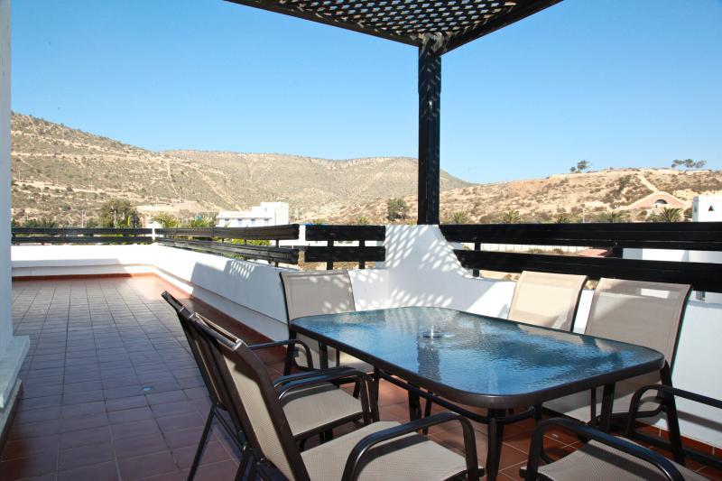 Terasse 1 - Terrace 1 - Terrasse 1 - Majestueux Apartment   at  Marina Agadir - Agadir - rentals