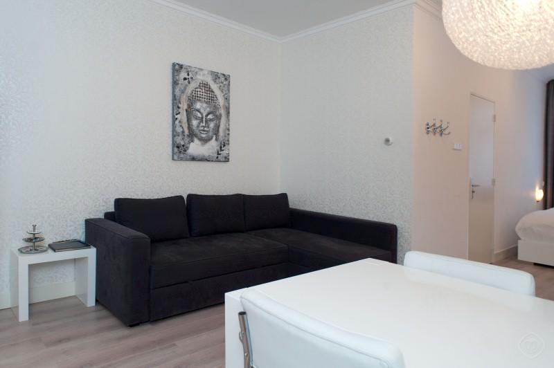 Living Room White Zen apartment Amsterdam - White Zen apartment Amsterdam - Amsterdam - rentals
