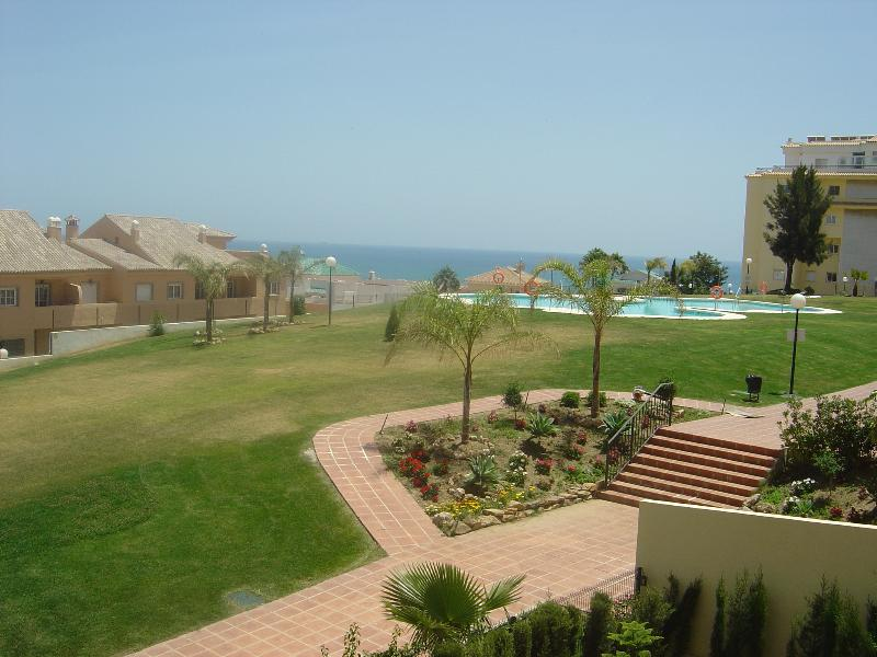 Stunning sea view from the balcony - Urb. Jardin Botanico, Phase 3, Block 4, Apart 1b - La Cala de Mijas - rentals
