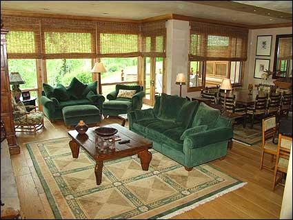 Professionally decorated great room - Snowmass Village - Luxury Townhouse (2126) - Aspen - rentals