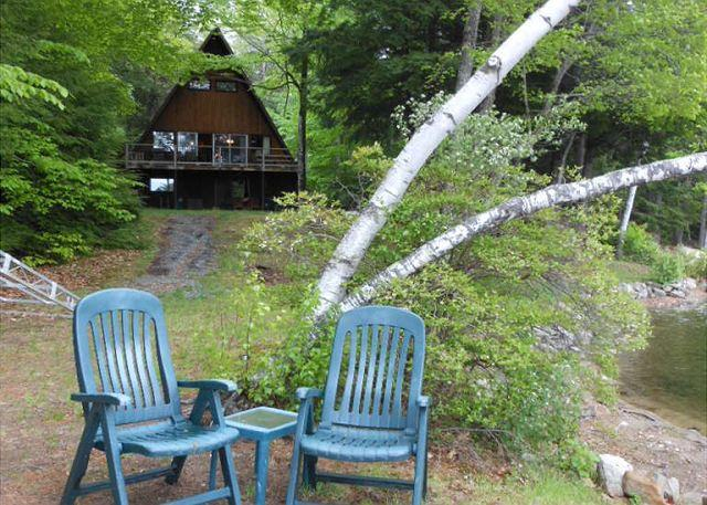 view of exterior and lake area - Winnipesaukee Isn't the Only Beautiful Lake in the Lakes Region! (KEA24Wf) - Meredith - rentals