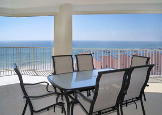 Balcony Gulf View - BEACHFRONT LUXURY FOR 6! MAGNIFICENT VIEWS! - Destin - rentals