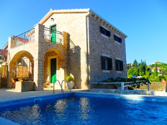 Two stone villas with pools for rent, Klek, Dubrovnik area - Two stone villas with pool, Klek - Klek - rentals