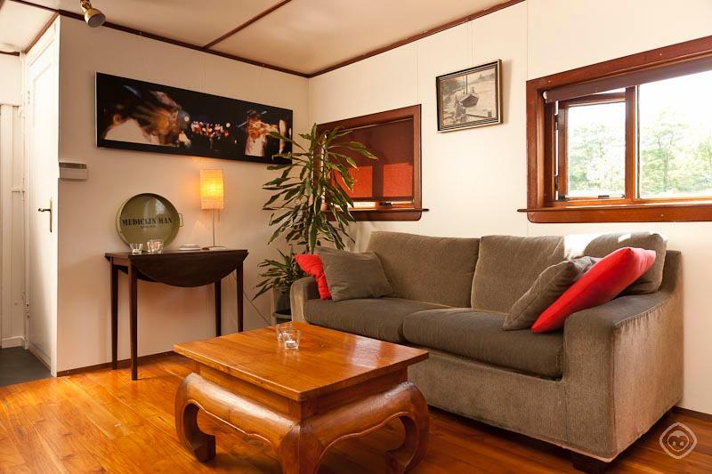 Living Room Houseboat Medicine Man apartment Amsterdam - Medicine Man houseboat Amsterdam - Amsterdam - rentals