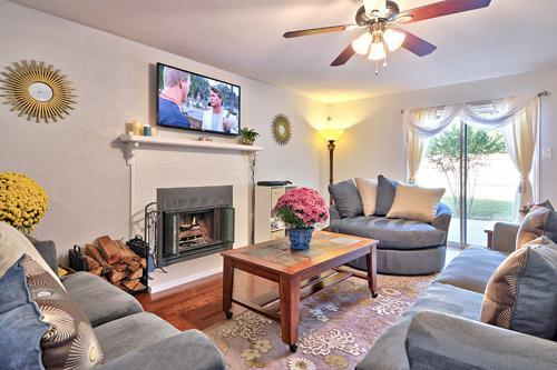 Living Room - A WONDERFUL PLACE TO BE: AUSTIN 3BR 3BA PRIV YARD - Austin - rentals