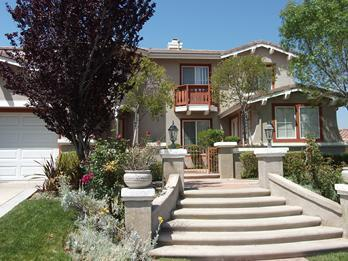 House Entrance - Los Angeles Vacation Rental View Home - Tujunga - rentals