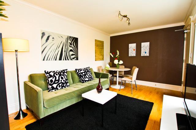 Living room - Sunny Mission - A - San Francisco - rentals