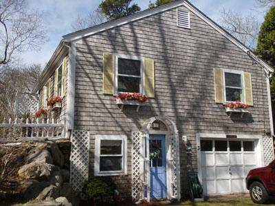 Side View of Home - Great Location just 2/10ths of a mile to Private Beach! - Brewster - rentals