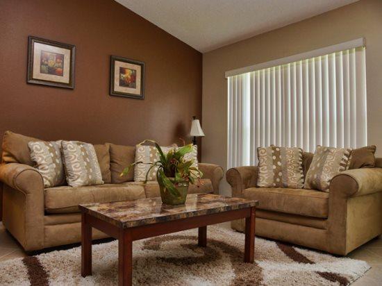 Living Area - HL4P636BD 4 BR Elegant Holiday Villa Tastefully Decorated - Orlando - rentals