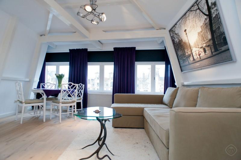 Living Room Luxury Canal Suite In The Famous 9 Streets Area! Apartment Amsterdam - Luxury Canal suite Amsterdam - Amsterdam - rentals