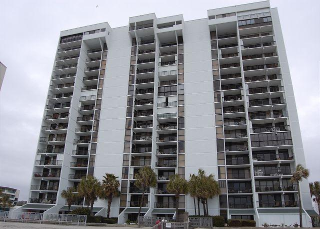 Building - Oceanfront community, located at the quiet end of Arcadian Shores - Myrtle Beach - rentals
