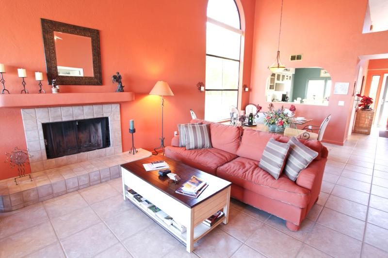 Discover Borrego Springs in this beautiful home! - Lovely 2BR Borrego Springs Townhouse w/ Spectacular Views of the Borrego Valley at Rams Hill Country Club! - Borrego Springs - rentals