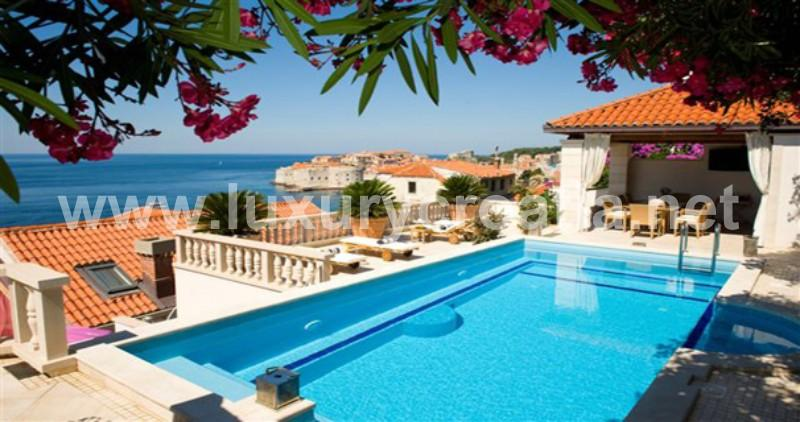Beautiful holiday villa with pool in Dubrovnik - HOLIDAY VILLA IN DUBROVNIK - Dubrovnik - rentals