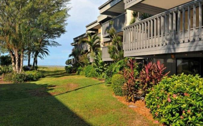 The Shore Overlooking the Pool - The Shore Unit 113 - Longboat Key - rentals