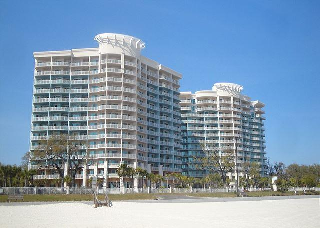 Beautiful two bedroom two bath condo with Gulf view. - Image 1 - Gulfport - rentals