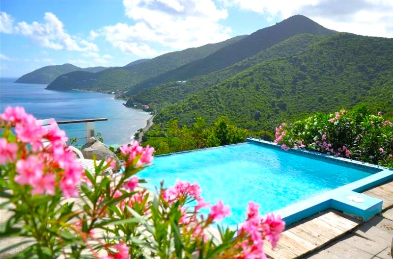 That view never gets old! - Tortola Adventure! Private 3BR Villa with Open View Pool - Tortola - rentals