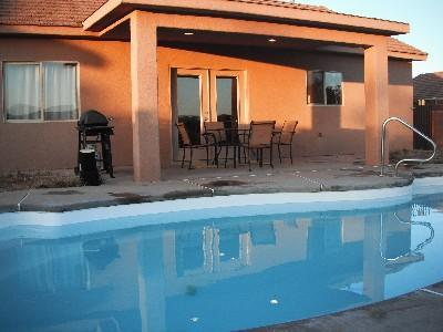 Home near Zion National Park 4 Bedroom, 2 Bathroom with private backyard swimming pool $200/night - St. George Utah Vacation Rental Home near Zion NP - Saint George - rentals