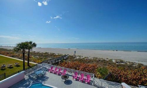 Luxury Beachfront Oasis - 4 Bdrs - Private Pool - Image 1 - Clearwater - rentals
