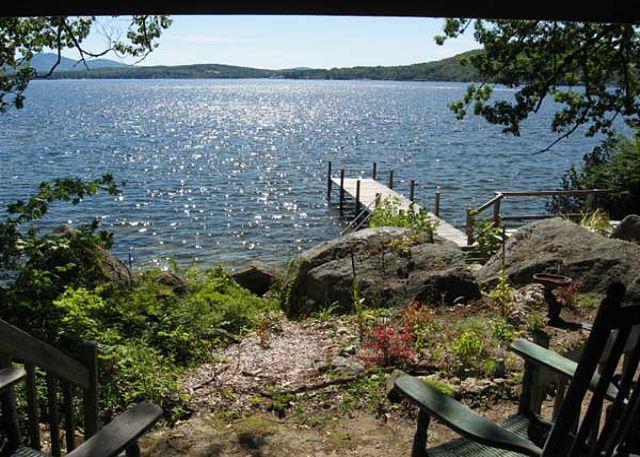 view - Spectacular Pinnacle Park Vacation Rental on Lake Winnipesaukee (SWE175Wa) - Meredith - rentals