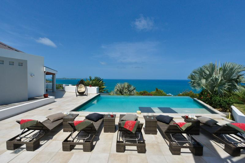 Modern Architectural Villa in Happy Bay with fabulous views of the Caribbean Sea - Image 1 - La Savane - rentals