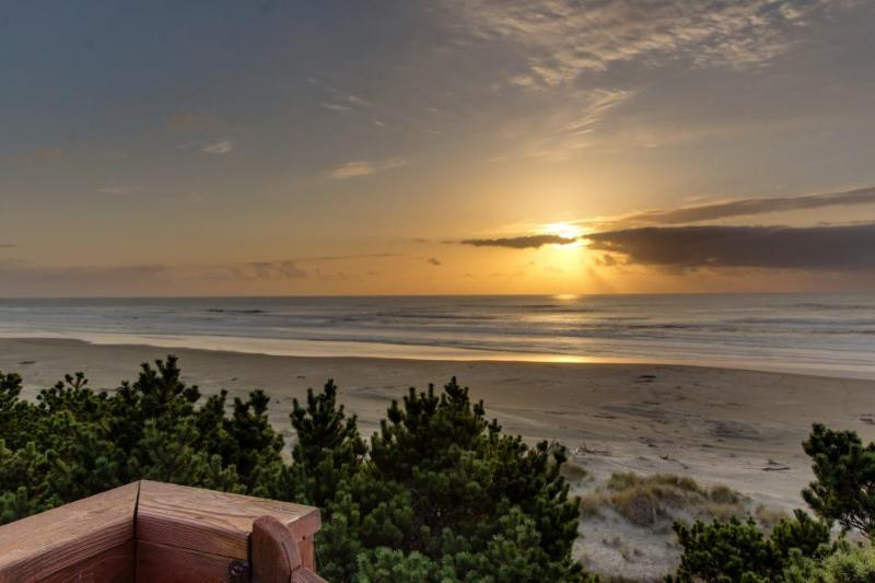 Stunning ocean views and private beach access, pet okay! - Image 1 - Seal Rock - rentals