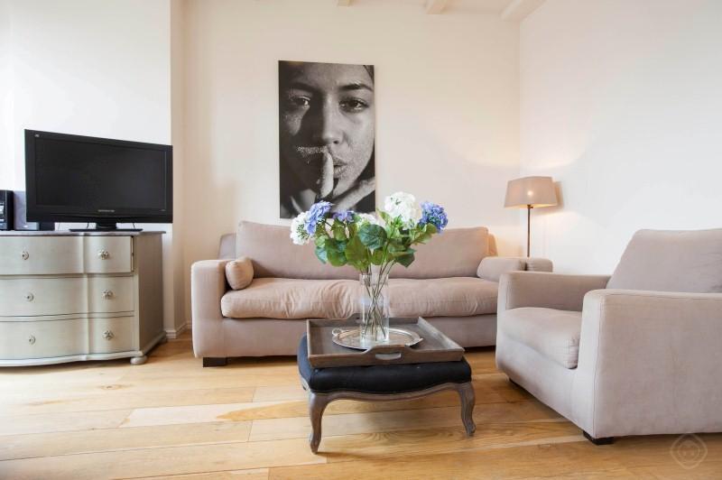 Living Room Prins III apartment Amsterdam - Prins III apartment Amsterdam - Amsterdam - rentals