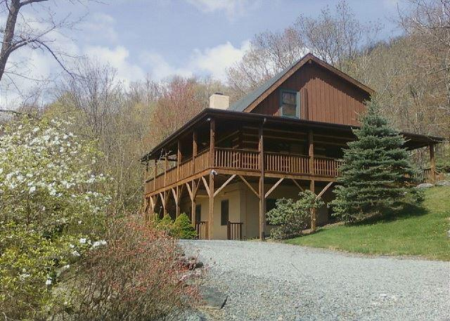 Fins n Feathers a authentic log cabin located in Seven Devils, sleeps 10 - Image 1 - Boone - rentals