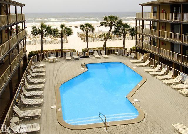 Pool Area - Comfortable Beachview Condo ~ Bender Vacation Rentals - Gulf Shores - rentals