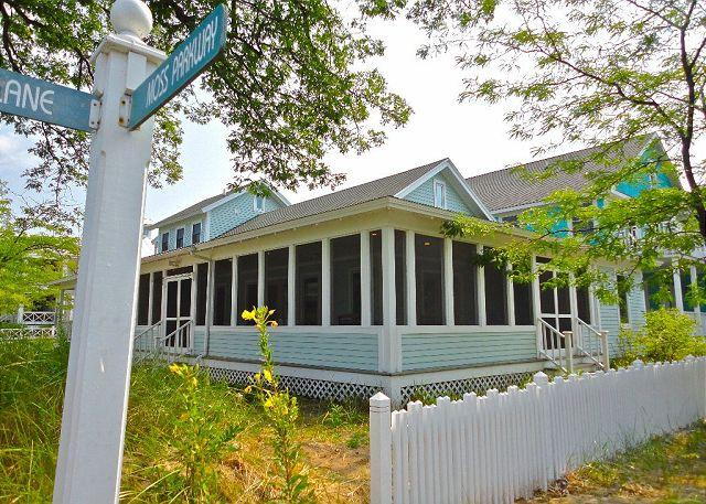 Exterior - Huge Enclosed Porch, 2 Main Level Masters, Centrally Located, Extra Parking - Michigan City - rentals