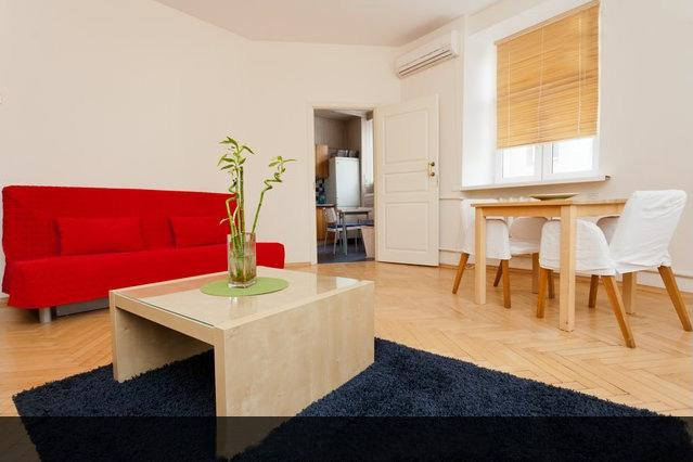 Living room - ERKER Old ARBAT Apartment, 2 rooms suite - Moscow - rentals