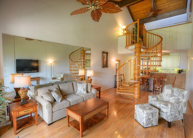 Renovated Two-Bedroom with a Partial Ocean View - Image 1 - Kihei - rentals