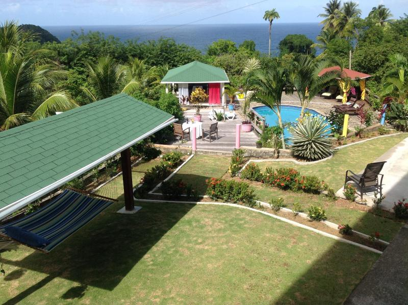 Designed to erred you to be in the horrizontal - OhLaLa Villas, Private Rainforest Retreat and B&B - Dominica - rentals
