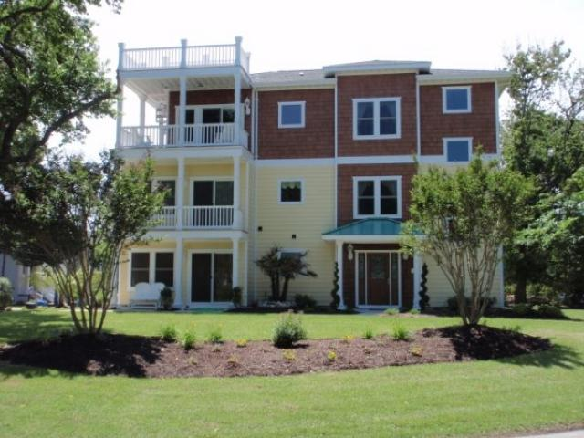 Exterior of House - 805 Surfside Avenue - Virginia Beach - rentals