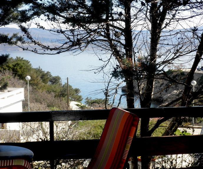 view from terrase - Apartments Lefler 1. floor - Vrbnik - rentals