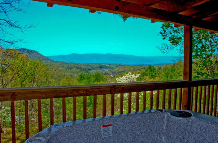 Beautiful views from Kloud-View - Kloud-View Kabin - Bryson City, NC - Bryson City - rentals